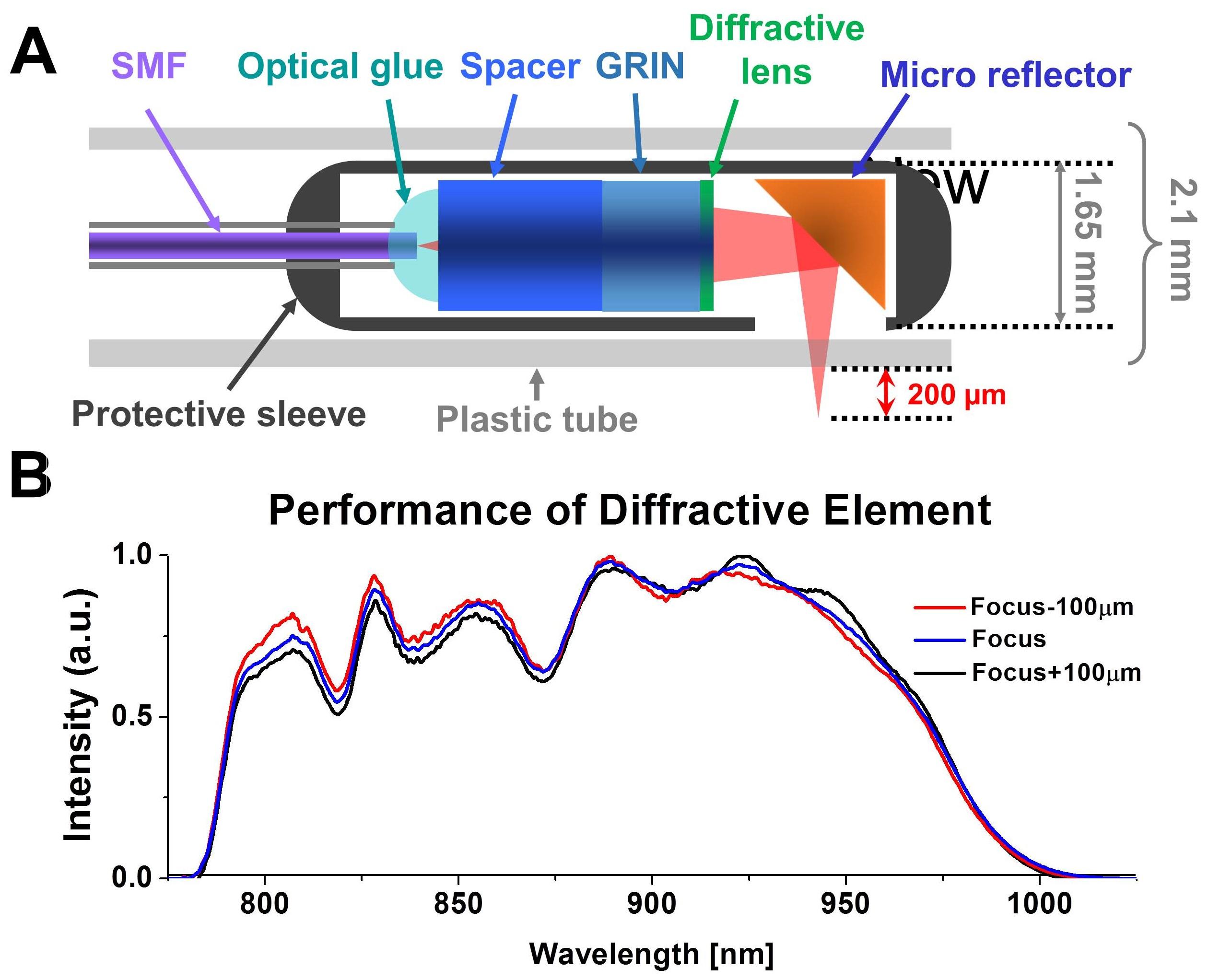 Optical Coherence Tomography Jhu Biophotonics Imaging Technology Fiber Optic Probe Diagram Figure 9